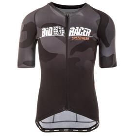 Bioracer Spitfire Kortärmad cykeltröja Herr grå/svart